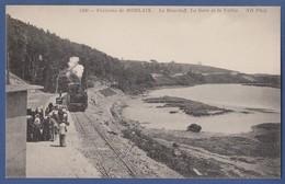 Environs De Morlaix Le Dourduff La Gare Et La Vallee Train Chemin De Fer Locomotive - France