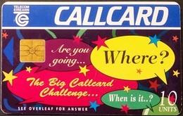 Telefonkarte Irland - Werbung  - 10 Units - Ireland