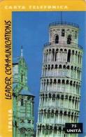 *ITALIA - LEADER COMMUNICATIONS: PISA* -  Scheda Usata - Italia