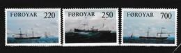Faeroer 1983 Nr 73/75 **, Zeer Mooi Lot Krt 4101 - Isole Faroer