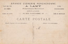 GRANDE CIDRERIE PERCHERONNE A. LAMY - Agriculture