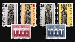 Faeroer 1984 Nr 87/92 **, Zeer Mooi Lot Krt 4103 - Féroé (Iles)