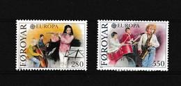 Faeroer 1985 Nr 110/11 **, Zeer Mooi Lot Krt 4104 - Féroé (Iles)