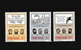 Faeroer 1988 Nr 166/68 **, Zeer Mooi Lot Krt 4106 - Féroé (Iles)