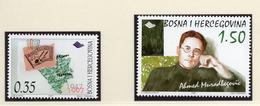 1998 - BOSNIA ERZEGOVINA - Mi.  Nr. 116 + 123 - NH - (UP121.25) - Bosnia Erzegovina