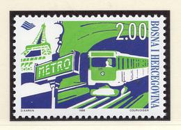 1998 - BOSNIA ERZEGOVINA - Mi.  Nr. 145 - NH - (UP121.25) - Bosnia Erzegovina