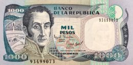 Colombia 1.000 Pesos Oro, P-438 (2.10.1995) - UNC - Colombie