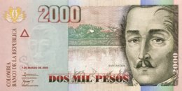 Colombia 2.000 Pesos, P-457a (7.3.2005) - UNC - Colombie