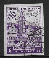 Deutschland Sowjetische  Zone West Sachsen 162 BY Geprüft - Sovjetzone