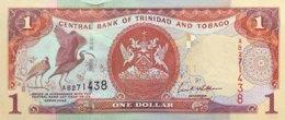 Trinidad & Tobago 1 Dollar, P-41 (2002) - UNC - Sign. 8 - Trinidad & Tobago