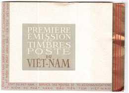 CARNET RARE PREMIERE EMISSION DE TIMBRES POSTE DU VIET-NAM 1951 NEUF - Viêt-Nam