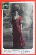 REINES De La MODE - Maud AMY Artiste Théâtre VAUDEVILLE Femme Chapeau - Mode
