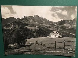 Cartolina Rifugio Ciampedie - Verso Le Ciagolade - Mugoni E Cornelle - 1956 - Trento