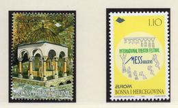 1998 - BOSNIA ERZEGOVINA - Mi.  Nr. 112+128 - NH - (UP121.26) - Bosnia Erzegovina