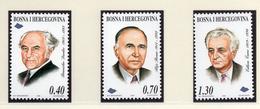 1998 - BOSNIA ERZEGOVINA - Mi.  Nr. 129/131 - NH - (UP121.26) - Bosnia Erzegovina