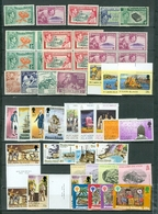 Pitcairn LOT Of 49 Incl. 8 SETS MOSTLY MNH Royals Views Ships More MOSTLY MNH Cat $60 US  WYSIWYG  A04s - Pitcairn Islands