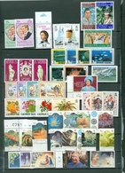 CAYMAN LOT Of 90 Incl. 9 SETS Royals Views Flowers Churchill More MANY MNH Cat $115 WYSIWYG A04s - Cayman Islands