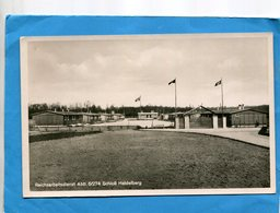 III° REICH-Carte D'un Camp -avec Pavillon Nazi-reichsarbeltsdienst-années 40-photo,Rausch - Allemagne