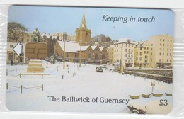 Guernsey Phonecard - £3 Christmas Mint Wrapped Condition - United Kingdom