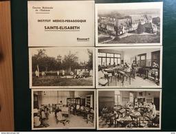 Rixensart/-Institut Médico-Pédagogique Sainte-Elisabeth-carnet Détaché Avec 10 Cpa - Rixensart