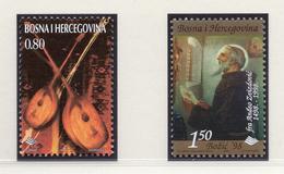 1998 - BOSNIA ERZEGOVINA - Mi.  Nr. 154+158 - NH - (UP121.26) - Bosnia Erzegovina