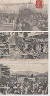 Lot De 3 CPA (Toulon) - Catastrophe Du Iéna - M. Thomson ... Et Transport Des Premiers Blessés (très Belle Animation) - Toulon