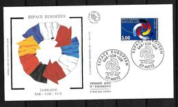 1997Joint/Commune France Germany Luxembourg, FDC FRANCE 1 STAMP: SarLorLux - Joint Issues