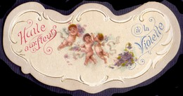 PRINT From J. STERN BERLIN -  HUILE  FLEURS  VIOLETTE - Cc 1910/15 - Etiquetas