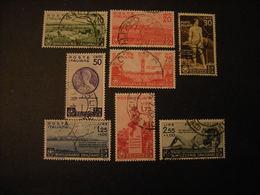 SVSNDITA 1936 - ORAZIO, Sass. N. 398/405, Serie Completa TTB, OCCASIONE - 1900-44 Vittorio Emanuele III