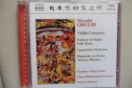 CD Musique Classique - Compositeur Japonais Hiroshi Ohguri - Violin Concerto - Concerto Pour Violon - Classique