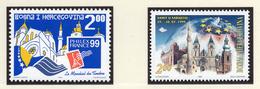 1999 - BOSNIA ERZEGOVINA - Mi.  Nr. 167+175 - NH - (UP121.27) - Bosnia Erzegovina