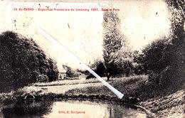 SAINT TROND - Exposition Provinciale Du Limbourg 1907 Dans Le Parc - Carte Très Animée - Sint-Truiden