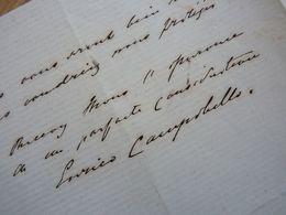 Enrico CAMPOBELLO (1848-1???) Chanteur BARYTON / Scottish Bass-baritone. OPERA. Autographe - Autographes