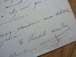 Emma FURSCH MADI - Autographs