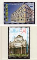 1999 - BOSNIA ERZEGOVINA - Mi.  Nr. 160/161 - NH - (UP121.27) - Bosnia Erzegovina