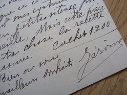 Henri JEROME (opera) - Autographs