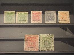 BHOPAL - 1908/30 STEMMA/PESCI 8 VALORI, Insieme/set - TIMBRATI/USED-NUOVI S.G. - Bhopal