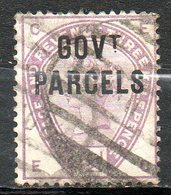 GRANDE BRETAGNE - 1883 - Service - N° 24 - 1 1/2 D. Violet - (Victoria) - Dienstpost