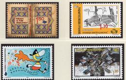 1999 - BOSNIA ERZEGOVINA - Mi.  Nr. 170+180+182+183 - NH - (UP121.27) - Bosnia Erzegovina