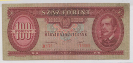UNGHERIA, 100 FORINT 1949. - Hongrie