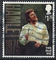 Royaume Uni 2018 Oblitéré Used Acteur Théâtre Hamlet The Old Vic - 1952-.... (Elizabeth II)