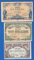 Périgueux  3  Billets - Chambre De Commerce