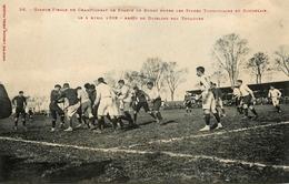 Rugby - Finale Championnat De France Stade Toulousain / Stade Bordelais 1909 - Sport Rugbyman - Toulouse Bordeaux - Rugby