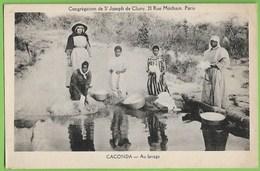 Caconda - Lavadeiras - Au Lavage - Etnhique - Ethnic - Angola - Afrique