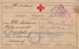 Karte - Kefermarkt An Kriegsgefangenen In Russland - Rotes Kreuz - POW - 1917 (39312) - 1850-1918 Imperium