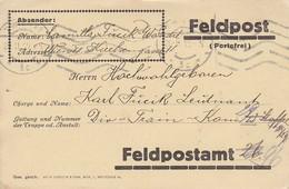 Feldpostkarte - Wien An Div-Train-Kom 13. Staffel - 1915 (39313) - 1850-1918 Imperium