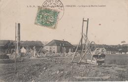 CPA Ferques - La Scierie De Marbre Lambert (très Beau Plan) - France