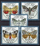 *BRD 1992 // Mi. 1602/1606 O - Schmetterlinge
