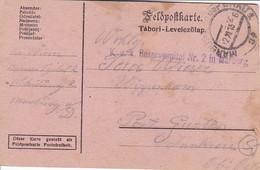 Feldpostkarte - K.u.k. Reservespital Nr. 2 In Marburg Nach Wippenham - 1915 (39319) - 1850-1918 Imperium