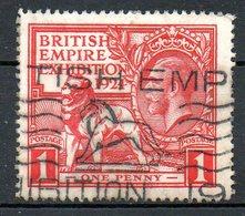 GRANDE BRETAGNE - 1924 - N° 171 - 1 D. Rouge - (Exposition De L'Empire Britannique à Wembley) - 1902-1951 (Re)